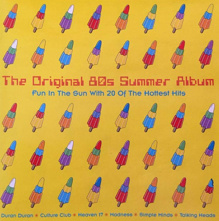 THE ORIGINAL 80's SUMMER ALBUM CD Blondie Heaven 17 Culture Club Madness