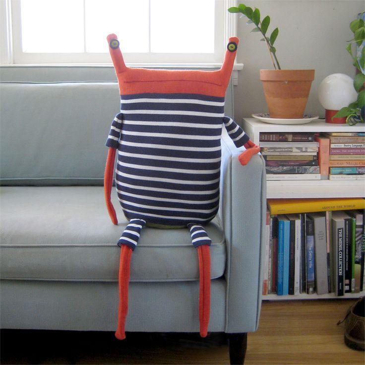 Beast Pillows by Debi van Zyl.   Shop Here   Lustik: twitter | pinterest | etsy
