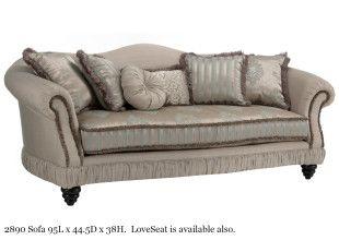 Decor Rest Fabric Sofa 2890 | UrbanCabin