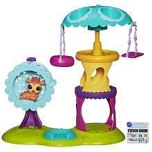 Littlest Pet Shop - Playtime Park with Russell Ferguson Playset