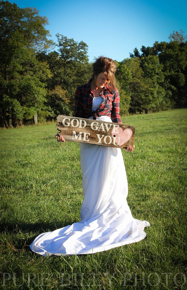 God Gave Me You by Pure' Billy Photography #Bridal Portraits #Country Bridal Session #Bridal Session Ideas