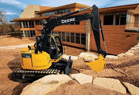John deere 75g excavator operation and test service