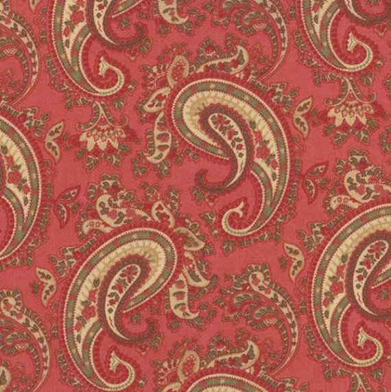 Paisley Fabric.