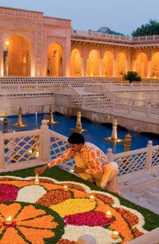 Amazing India...Oberoi hotel STUNNING - Explore the World, one Country at a Time. http://TravelNerdNici.com