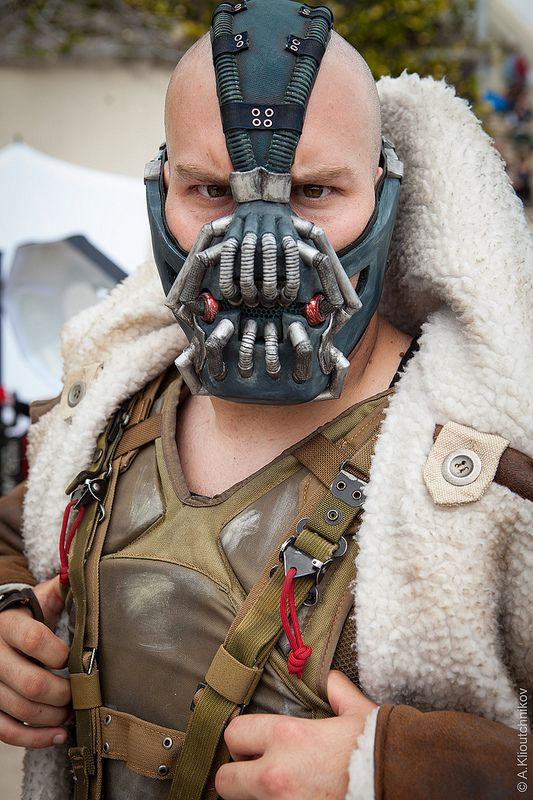 Amazing Bane Cosplay at San Diego Comic Con 2013.