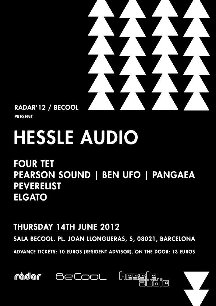 Radar '12 – Hessle Audio presents at BeCool