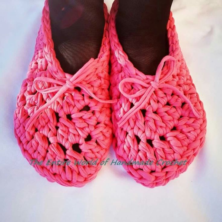 Crochet Woman's Slippers