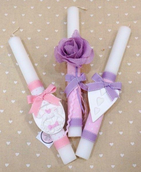 Λαμπάδες πασχαλινές για κορίτσι 2018 2 Χειροποίητες, τρυφερές λαμπάδες φτιαγμένες από την Happyrooms. Με αρωματικά κεριά, επενδεδυμένα με χαρούμενα, πολύχρωμα υφάσματα γκρο και υπέροχες υφασμάτινες κορδέλες. Όλες οι λαμπάδες μας αποστέλλονται σε craft κουτί με χερούλι και παράθυρο, στολισμένο για συσκευασία δώρου με χαρούμενες χρωματιστές κορδέλες, ασορτί με την εκάστοτε λαμπάδα. Οι περισσότερες από τις λαμπάδες μας είναι είτε μοναδικές, είτε σε πολύ μικρή ποσότητα παραγωγής. Έτσι…