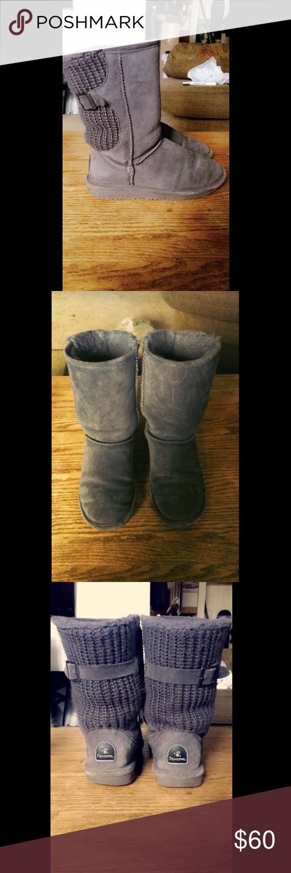 Stella BearPaw Boots Soo comfortable and extremely cute, these adorable boots are perfect to wear with leggings, jeans, and any type of Top! Gently worn a few times, but still in really great condition! BUNDLE TO SAVE!! BearPaw Shoes Ankle Boots & Booties