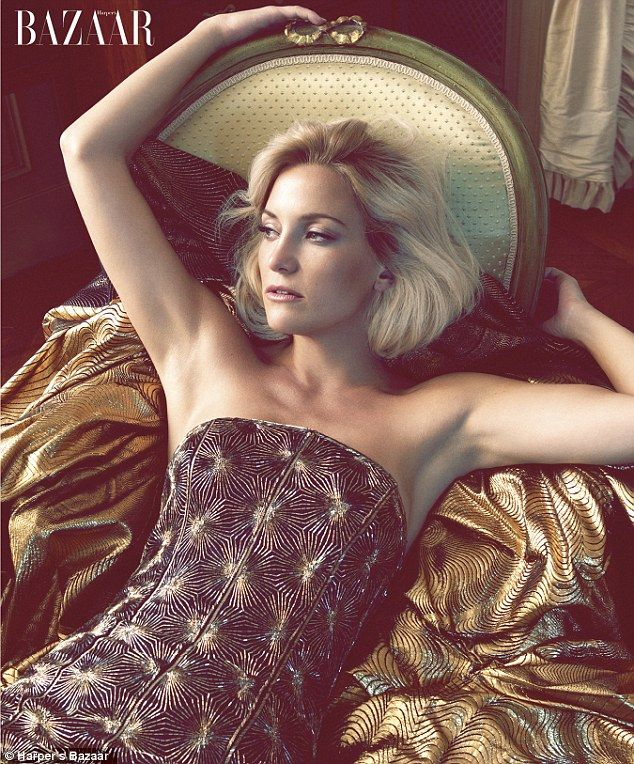 We'll wed soon: Kate Hudson says she will marry fiance Matt Bellamy when the timing is right in an interview for Harper's Bazaar, in which she also appears in a glamorous photoshoot