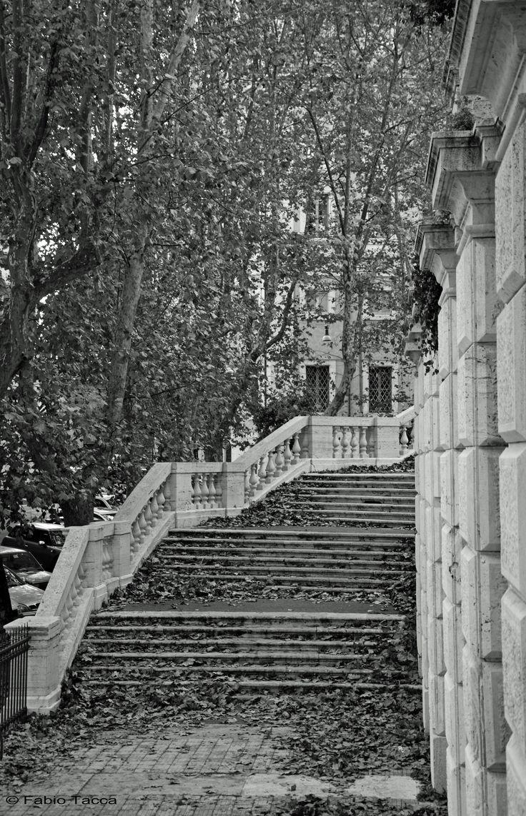 https://flic.kr/p/AUUewe   l'abitudine   L'abitudine è l'abitudine, e nessun uomo può buttarla dalla finestra; se mai la si può sospingere giù per le scale, un gradino alla volta. Mark Twain, Wilson lo Svitato (1894)  Giardino del Quirinale, Roma