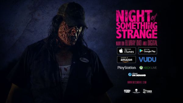 """7/9/2017-ACTING-""""Night of Something Strange"""" Relaunched on Video on Demand by Terror Films"""