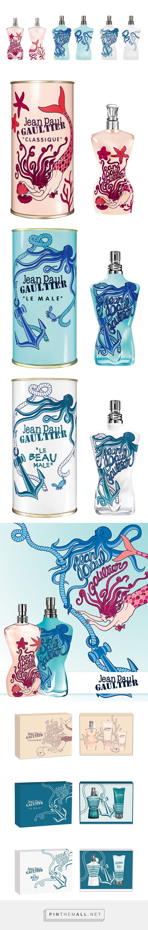 Jean Paul GAULTIER – Summer 2014 Edition | Agence VERSUS curated by Packaging Diva PD. Wow, this is the first time I've seen this great packaging together.