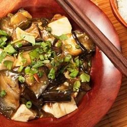 Braised Eggplant with Tofu in Garlic Sauce