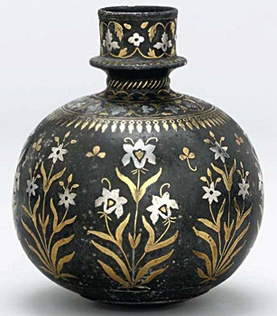 Bidri Mughal Art