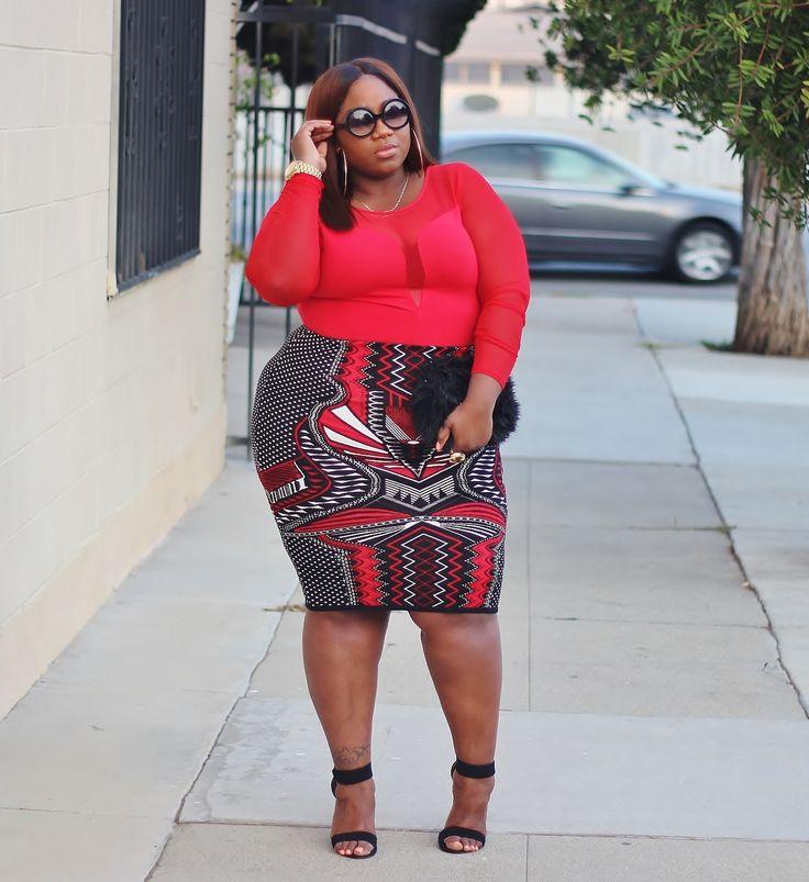 Plus Size Fashion - LACE N LEOPARD: Tribeca