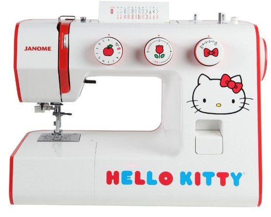 88 best sewing machine images on pinterest antique sewing machines janome 15822 hello kitty sewing machine with 24 built in stitches and a one step buttonhole the hello kitty 15822 is as cute as it is functional fandeluxe Images