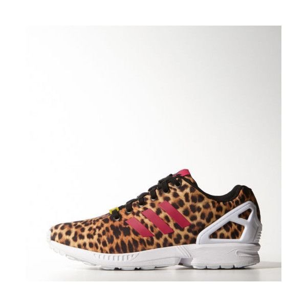 new adidas zx flux torsion leopard print animal