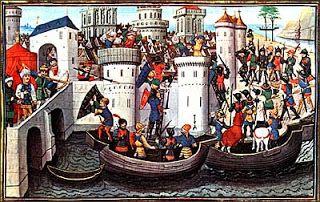 Ιστογραφία: OΙ ΣΤΑΥΡΟΦΟΡΙΕΣ ΚΑΙ Η ΠΡΩΤΗ ΑΛΩΣΗ ΤΗΣ ΠΟΛΗΣ (1204)...