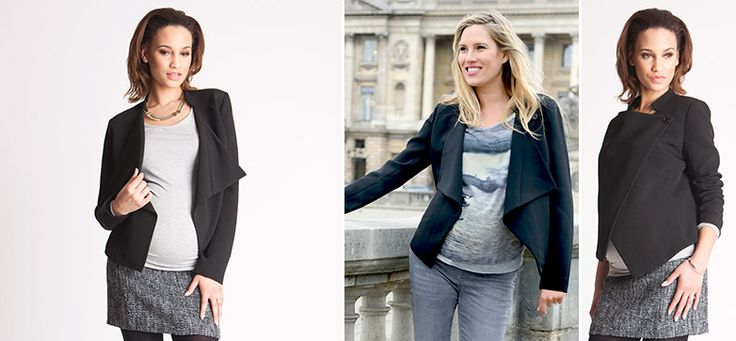 Clarissa Waterfall Jacke aus der Kategorie Blazer & Anzüge von Mamarella - Details