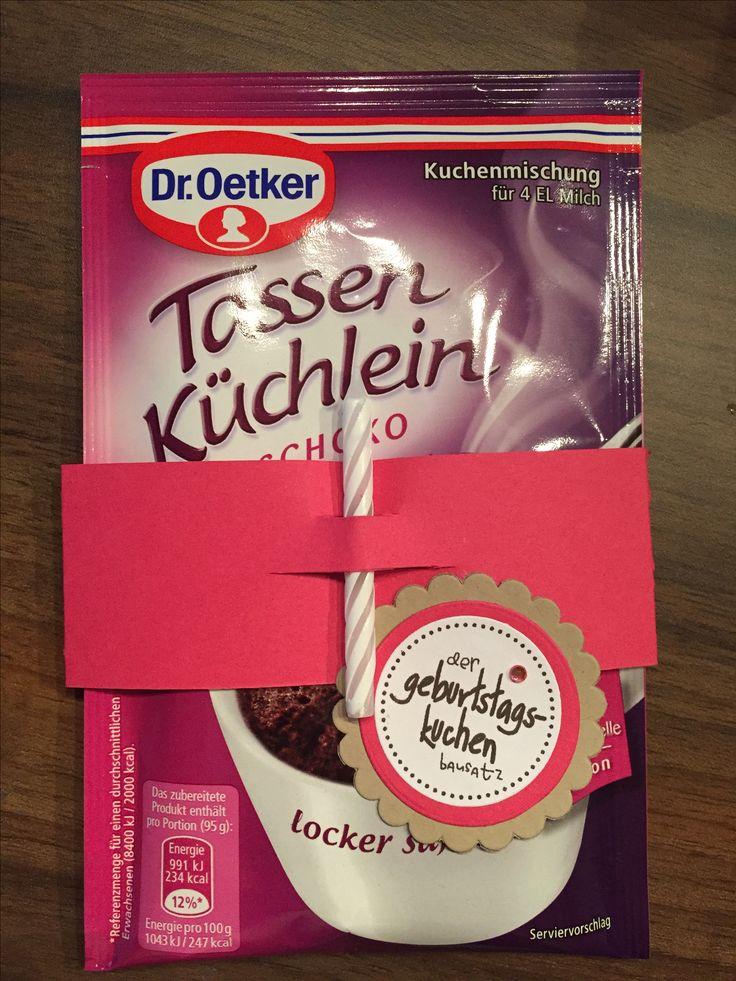 Geburtstagskuchenbausatz (von www.mirid.de) abgewandelt für eilige Geburtstagsgrüße