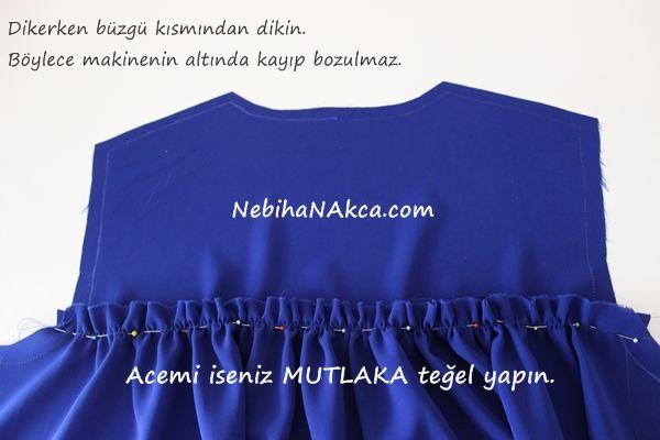 ca6104625b5e1 NEBİHAN AKÇA: Robalı Ferace-Elbise Kesimi | DİKİŞ TEKNİKLERİ | Dikiş, Elbise  modelleri, Elbise yapımı