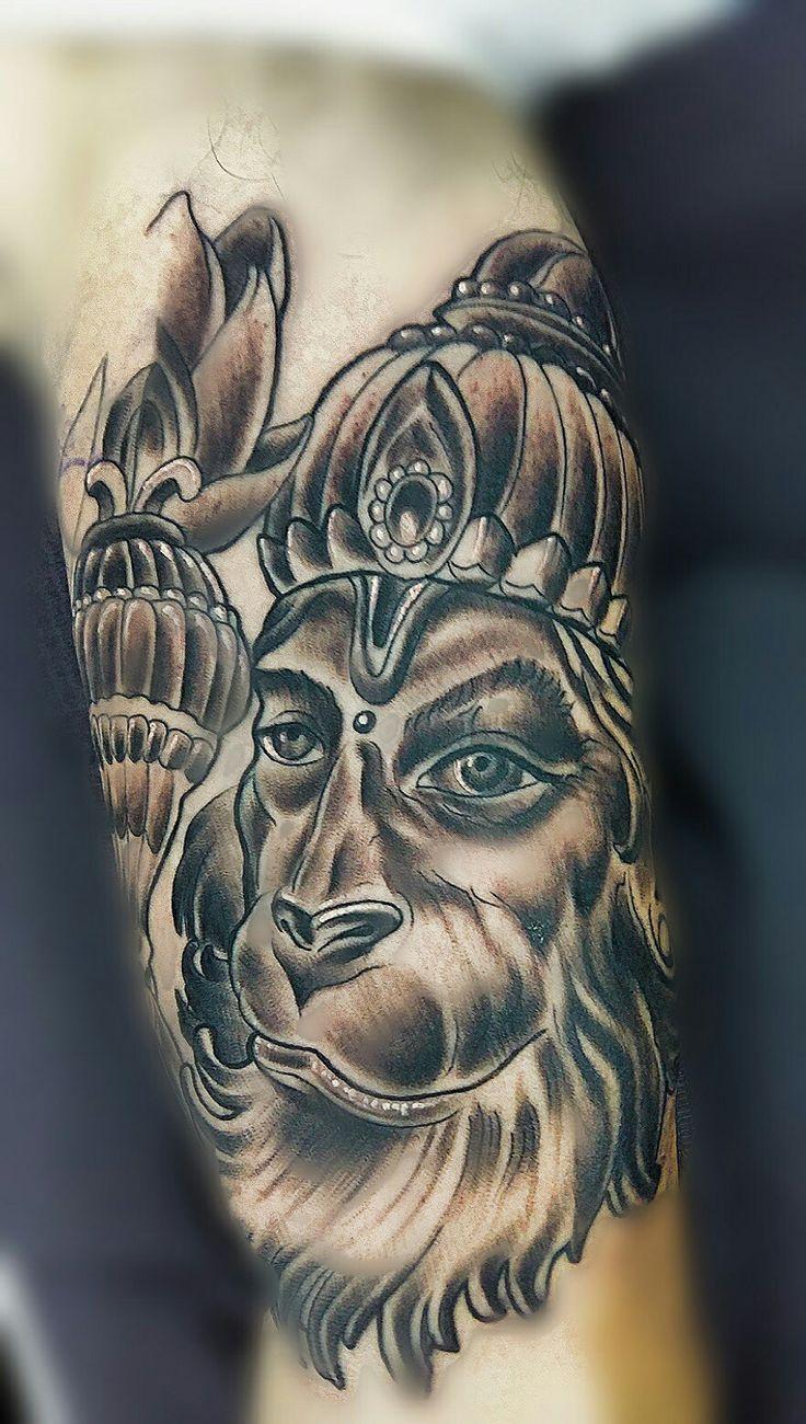 1000 ideas about hanuman tattoo on pinterest hanuman ganesh and monkey king. Black Bedroom Furniture Sets. Home Design Ideas