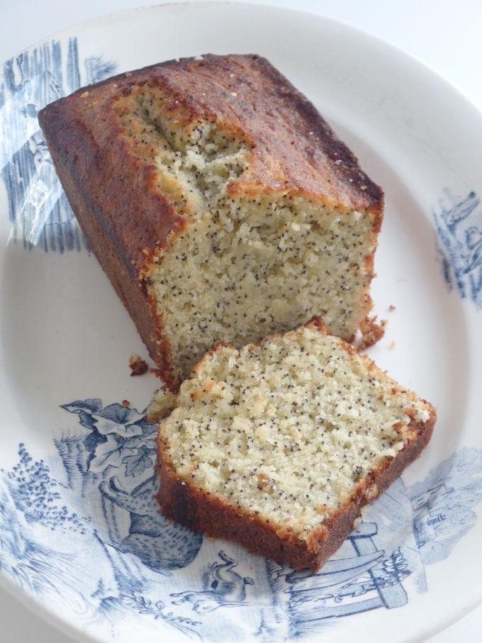 Cake citron pavot - recette Olivia Pâtisse