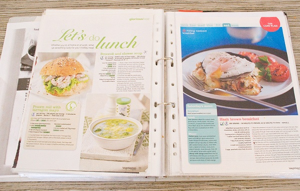 organize recipes  -- from print copies to backing them up on your computer