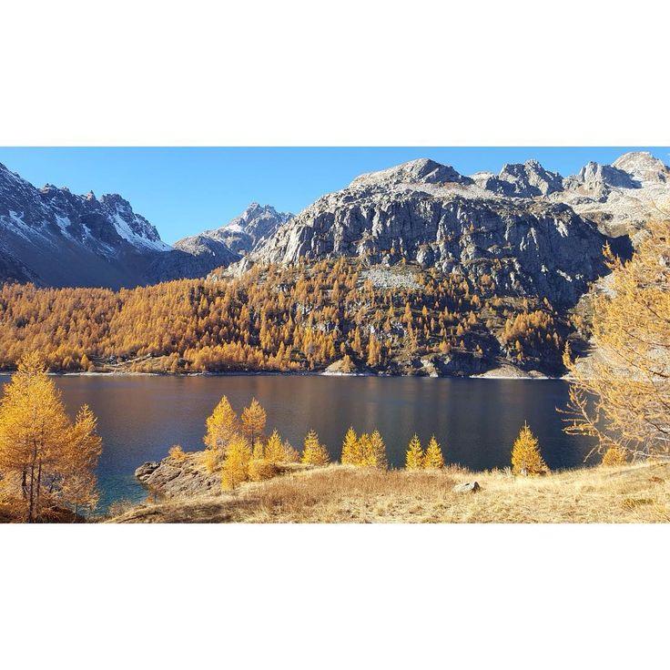 #nophilter #codelago #lake #alps #mountains #piemonte #italy #trekking #autumn #nature
