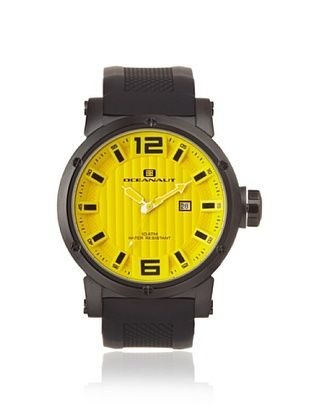 78% OFF Oceanaut Men's OC2116 Loyal Yellow Analog Watch