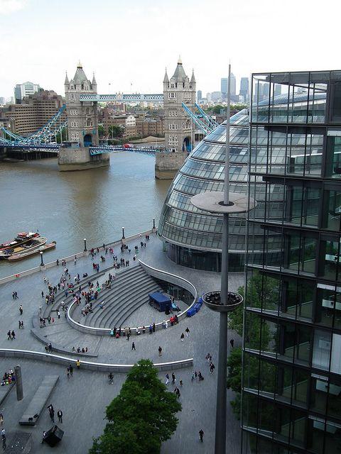 Tower Bridge views - Bankside, London