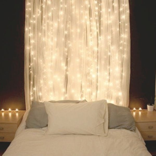 IKEA LILL Sheer Curtains 1 Pair White Essential For Your Fairy Light Bedroom