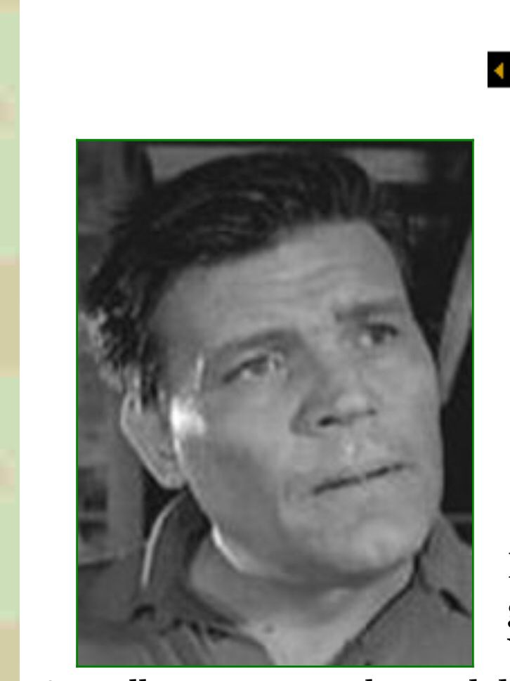 Neville Brand: Army-WW2-wounded in action along the Weser River 1945. He was decorated 13 times for his action in the war.