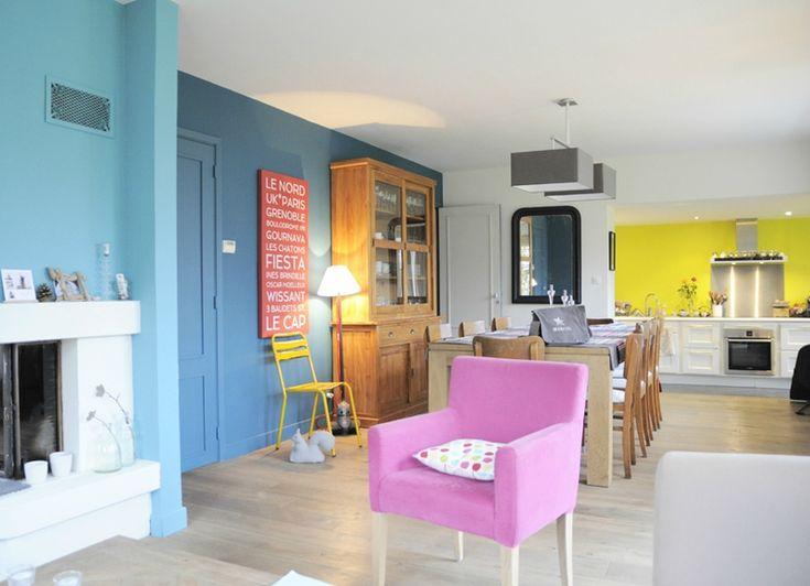 31 best amm m mme b piece de vie cuisine images - Piece a vivre moderne ...