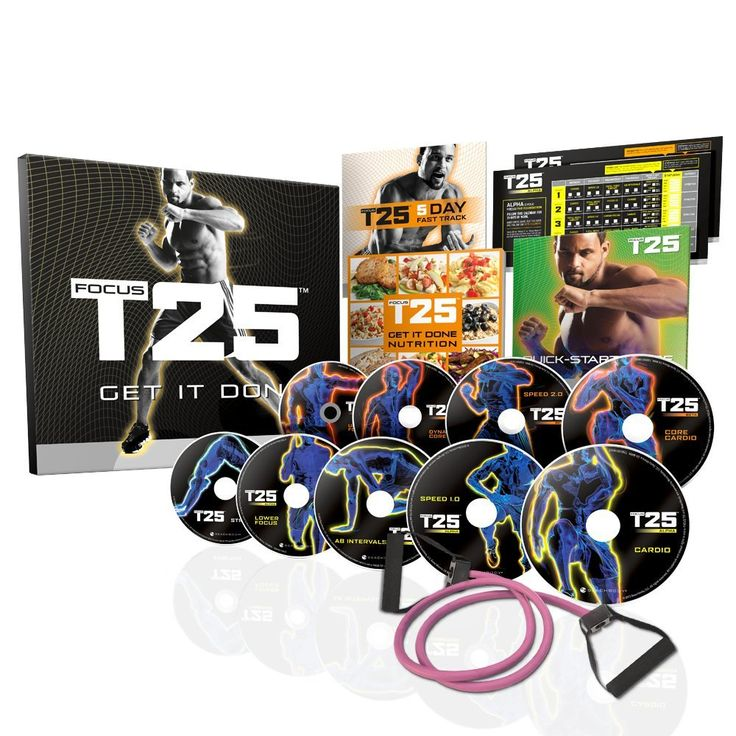 My Review shaun t's focus t25 dvd workout – base kit by beachbody