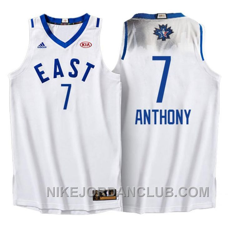 e9ac2d49872 ... New York Knicks 7 Carmelo Anthony 2012 East All Star Blue NBA Jersey  Discover the NBA 2016 Toronto All Star Eastern Conference Hawks Paul  Millsap White ...
