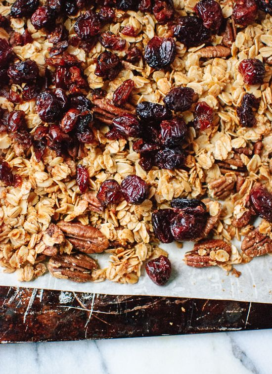 Cranberry orange granola recipe - cookieandkate.com