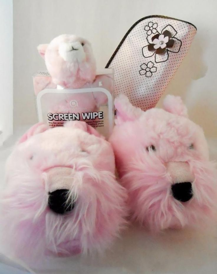 Girls Tween Teen Gift Set Schnauzer Slippers Zippered Pouch Bunny Screen Wipe   Clothing, Shoes & Accessories, Kids' Clothing, Shoes & Accs, Girls' Accessories   eBay!