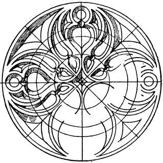 Gothic Circular Panel | ClipArt ETC
