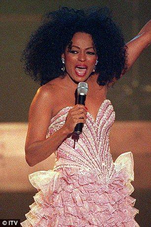 Diana Ross Concert Dresses | She deserves some RESPECT! Aretha Franklin looks slimmer than ever as ...