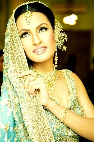 the most beautiful pakistani model nadia hussain as a bride ♥♥