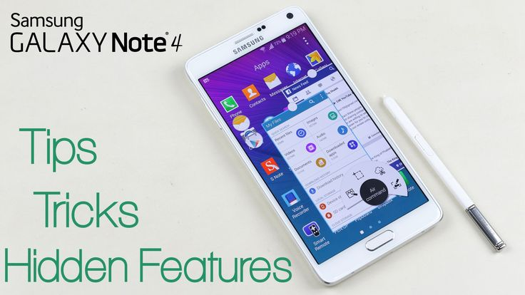 Galaxy Note 4 - Tips,Tricks & Hidden Features