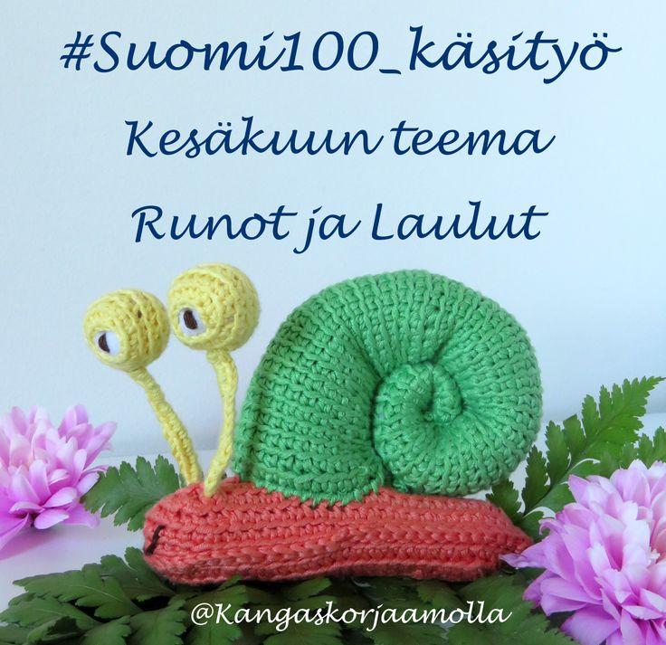 Suomi 100 vuotta -teemakäsityön aiheena kesäkuussa runot ja laulut https://kangaskorjaamolla.blogspot.fi/2017/06/inspiraatiota-takataskusta-ja.html