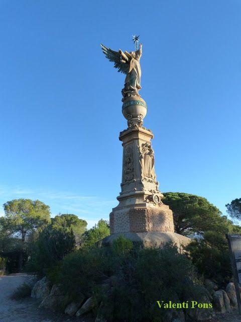 MODERNISME: LLORET DE MAR - Monument a l'Àngel