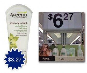Aveeno Cleanser, Only $3.27 at Walmart with Checkout 51!