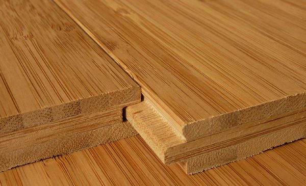 Bambusparkett Premieum karamell/vertikal Nut und Feder (Zum Vergrößern bitte Bild anklicken)