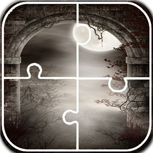 Gothic Jigsaw Puzzle Gothic Jigsaw Puzzle is another black game for all scary game fans. If you are searching free Gothic games then you have arrived at right place. This jigsaw puzzle game has a collection of gothic pictures. Get high score by simply rearranging pieces of picture. Add your gallery pictures and enjoy dark scary jigsaw puzzle. https://play.google.com/store/apps/details?id=com.zeeshan.jigsawgothic