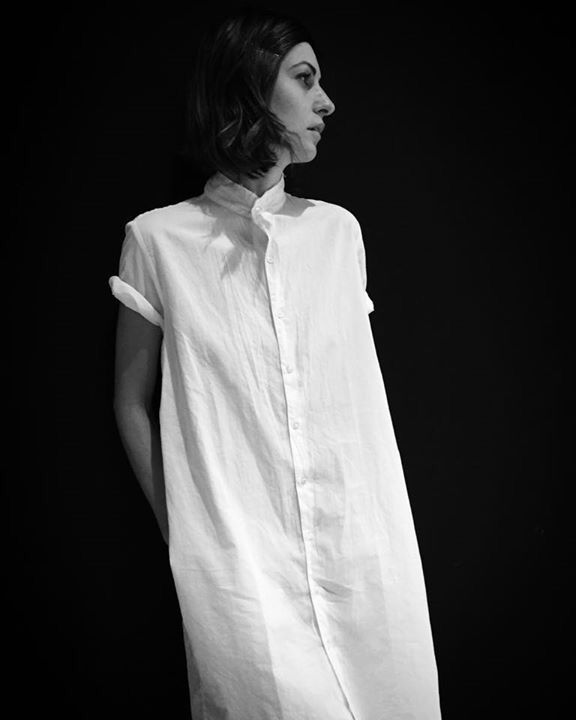 White cotton dress From Pip squick Chapeau