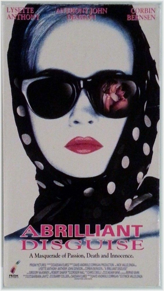 eBlueJay: VHS A Brilliant Disguise Lysette Anthony Thriller, 1978 Rare, 086625197837 R